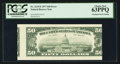 Error Notes:Skewed Reverse Printing, Fr. 2119-E $50 1977 Federal Reserve Note. PCGS Choice New 63PPQ.....