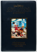 Memorabilia:Disney, Aku Ankka Ja Kumppanit 1951-52 Limited, Signed Leather Bound Printer's Proof 2/20 (Walt Disney, 1994) Condition: VF....