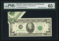 Error Notes:Foldovers, Fr. 2075-E $20 1985 Federal Reserve Note. PMG Gem Uncirculated 65EPQ.. ...