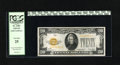 Small Size:Gold Certificates, Fr. 2402 $20 1928 Gold Certificate. Very Fine. This Gold $20 is pinhole free and has nice color....