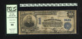 National Bank Notes:District of Columbia, District of Columbia, DC - $10 1902 Plain Back Fr. 625 NB Ch. # 3425. Boldly printed signatures adorn this $10. PCGS V...
