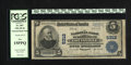 National Bank Notes:Kentucky, Louisville, KY - $5 1902 Plain Back Fr. 607 The NB Ch. # 5312.Officers are C.F. Jones and J.B. Brown. PCGS Fine 15PPQ...