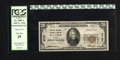National Bank Notes:Virginia, Roanoke, VA - $20 1929 Ty. 1 The First National Exchange Bank Ch. #2737. J.H. Mathews and E.B. Spencer held court over ...