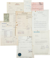 Star-Club Archive of Artist Documents, Including The Beatles, Brian Epstein and Others (Germany, 1960s)