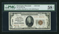 National Bank Notes:Wisconsin, Sheboygan, WI - $20 1929 Ty. 2 The Security NB Ch. # 11150. ...