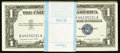 Small Size:Silver Certificates, Fr. 1620/1619* $1 1957A/1957 Silver Certificates. Original Pack of 100. Choice Crisp Uncirculated.. ... (Total: 100 notes)