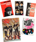 Music Memorabilia:Memorabilia, A Group of Five Dutch and German Beatles Books (Germany andHolland, 1960s and later)....