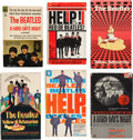 Music Memorabilia:Memorabilia, A Group of Six Beatles Paperback Books (UK and US, 1960s)....