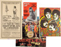 Music Memorabilia:Posters, A Group of Beatles Sgt. Pepper's Lonely Hearts Club BandDisplay Items (UK, Germany, and Belgium 1960s and Later)....