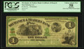 Obsoletes By State:Louisiana, New Orleans, LA- Mechanics & Traders Bank $1 Remainder . ...