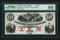 Obsoletes By State:Kentucky, Russellville, KY- Southern Bank of Kentucky $10 G342a Proof. ...