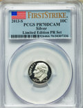 Proof Roosevelt Dimes, 2013-S 10C Limited Edition Proof Set, First Strike, PR70 Deep CameoPCGS. PCGS Population (265). NGC Census: (0). ...