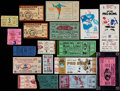 Football Collectibles:Tickets, 1910-77 Misc. Football Tickets Lot of 18....