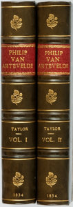 Books:Literature Pre-1900, Henry Taylor. Philip Van Artevelde; A Dramatic Romance. In TwoParts. London: Edward Moxon, 1834.... (Total: 2 Items)