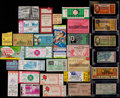 Football Collectibles:Tickets, 1938-88 College and Pro Football Tickets Lot of 30+....