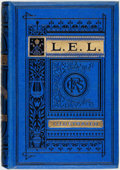 Books:Literature Pre-1900, Letitia Elizabeth Landon. The Poetical Works of LetitiaElizabeth Landon (L. E. L.). London: George Routledge an...