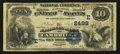 National Bank Notes:Maryland, Cambridge, MD - $10 1882 Date Back Fr. 545 The NB of Cambridge Ch.# (E)2498. ...