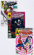Modern Age (1980-Present):Superhero, The Amazing Spider-Man Group of 54 (Marvel, 1980-92) Condition: Average NM-.... (Total: 54 Comic Books)