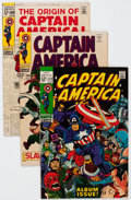 Silver Age (1956-1969):Superhero, Captain America Group of 13 (Marvel, 1968-70) Condition: Average FN+.... (Total: 13 Comic Books)
