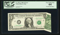 Error Notes:Foldovers, Fr. 1911-L $1 1981 Federal Reserve Note. PCGS Very Choice New 64.....
