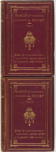 Books:Literature Pre-1900, Leigh Hunt and S. Adams Lee. The Book of the Sonnet. London:Sampson Low, Son, & Marston, 1867.... (Total: 2 Items)