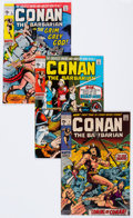 Bronze Age (1970-1979):Adventure, Conan the Barbarian #1-3 Group (Marvel, 1970-71).... (Total: 3 Comic Books)