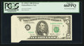 Error Notes:Foldovers, Fr. 1978-C $5 1985 Federal Reserve Note. PCGS Gem New 66PPQ.. ...