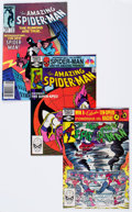 Modern Age (1980-Present):Superhero, The Amazing Spider-Man Group of 22 (Marvel, 1981-96) Condition:Average VF+.... (Total: 22 Comic Books)