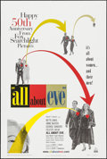 "Movie Posters:Academy Award Winners, All About Eve (20th Century Fox, R-2000). 50th Anniversary OneSheet (26.75"" X 39.5"") DS. Academy Award Winners.. ..."