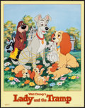 "Movie Posters:Animation, Lady and the Tramp & Others Lot (One Stop Posters, 1986).Commercial Posters (3) (22"" X 28""). Animation.. ... (Total: 3Items)"