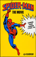 """Movie Posters:Action, Spider-Man (Cannon, 1985). One Sheet (29.5"""" X 46.5"""") Advance.Action.. ..."""