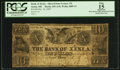 Obsoletes By State:Ohio, Xenia, OH - The Bank of Xenia (The Second) Altered $10 Oct. 10,1837 A10 Wolka 2889-13. ...