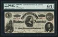 Confederate Notes:1863 Issues, T56 $100 1863 PF-3 Cr. 402.. ...