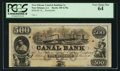 Obsoletes By State:Louisiana, New Orleans, LA - New Orleans Canal & Banking Co. $500 18__ Remainder G70a. ...
