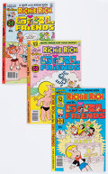 Modern Age (1980-Present):Humor, Richie Rich and Gloria/His Girlfriends File Copy Short Box Group (Harvey, 1977-82) Condition: Average NM-....