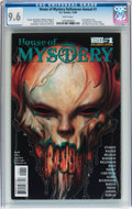 Modern Age (1980-Present):Horror, House of Mystery Halloween Annual #1 (DC/Vertigo, 2009) CGC NM+ 9.6White pages....