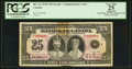 Canadian Currency: , Low Serial Number F000008-D BC-12 $25 1935 . ...