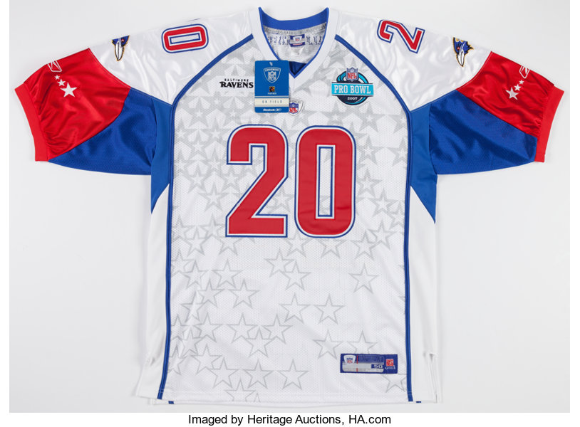 pretty nice c5506 a21b8 Ed Reed Signed Pro Bowl Jersey.... Football Collectibles ...