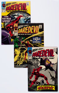 Daredevil #20-30 and Annual #1 Group (Marvel, 1966-67) Condition: Average VG+.... (Total: 12 Comic Books)
