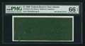 Error Notes:Ink Smears, Fr. 1924-F $1 1999 Federal Reserve Note. PMG Gem Uncirculated 66EPQ.. ...
