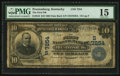 National Bank Notes:Kentucky, Prestonburg, KY - $10 1902 Date Back Fr. 616 The First NB Ch. #(S)7254. ...