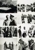 Books:Prints & Leaves, [World War II - Axis Command]. Archive of Approximately Fifty-NinePhotographs Depicting Axis Command During World War II. ...