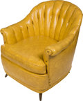 "Music Memorabilia:Memorabilia, Elvis Presley's ""King"" Chair (1960's).... (Total: 2 Items)"