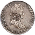 British Honduras, British Honduras: British Colony - George III Countermarked 6 Shilling 1 Penny ND (1817-21) XF40 PCGS,...