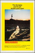 "Movie Posters:Adventure, Walkabout (20th Century Fox, 1971). One Sheet (27"" X 41""), LobbyCard Set of 8 (11"" X 14""), Uncut Pressbook (8 Pages, 8.25"" ...(Total: 11 Items)"