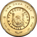 Chile, Chile: Republic gold Onza 1979-So MS68 NGC,...