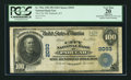 National Bank Notes:Kentucky, Paducah, KY - $100 1902 Plain Back Fr. 702a The City NB Ch. # 2093....