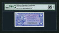 Military Payment Certificates:Series 611, Series 611 5¢ PMG Superb Gem Uncirculated 69 EPQ.. ...