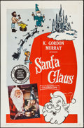 """Movie Posters:Fantasy, Santa Claus & Other Lot (K. Gordon Murray, 1960/R-1969). OneSheets (3) (27"""" X 41""""), Uncut Pressbook (4 Pages, 11"""" X 17"""") &... (Total: 5 Items)"""