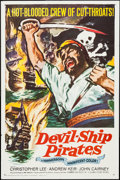 "Movie Posters:Adventure, Devil-Ship Pirates (Columbia, 1964). One Sheet (27"" X 41"").Adventure.. ..."